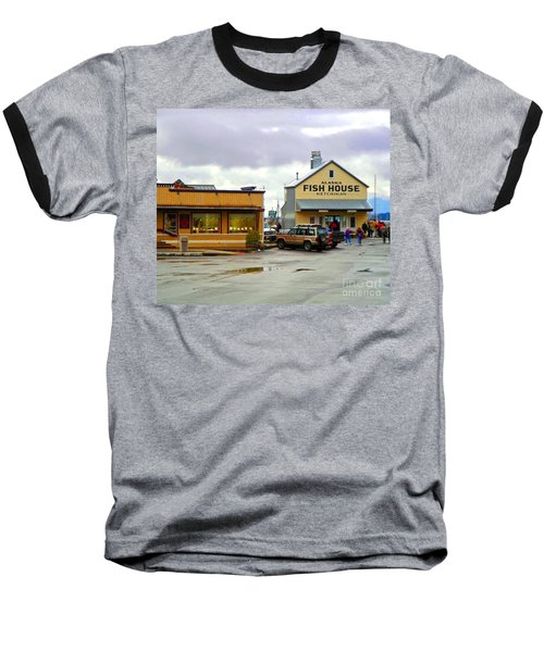 Fish House Baseball T-Shirt