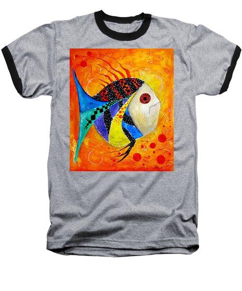 Fish Splatter II Baseball T-Shirt