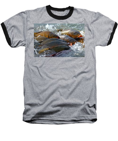Baseball T-Shirt featuring the photograph Fishing And Hunting by Elizabeth Winter