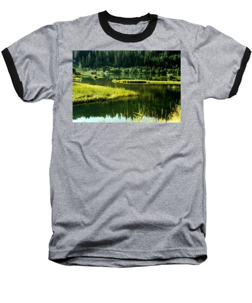 Fishing The Still Water Baseball T-Shirt