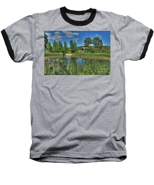 Baseball T-Shirt featuring the photograph Flagstaff by Tam Ryan