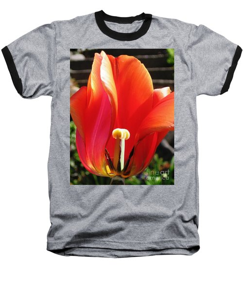 Baseball T-Shirt featuring the photograph Flame by Rory Sagner
