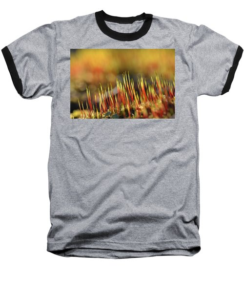 Flaming Moss Baseball T-Shirt