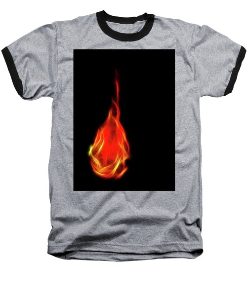 Flaming Tear Baseball T-Shirt