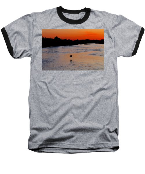 Baseball T-Shirt featuring the photograph Flight Of The Turkey by Elizabeth Winter