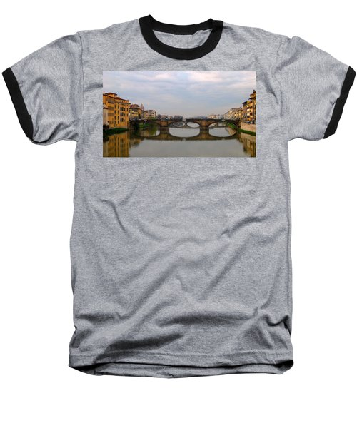 Florence Italy Bridge Baseball T-Shirt