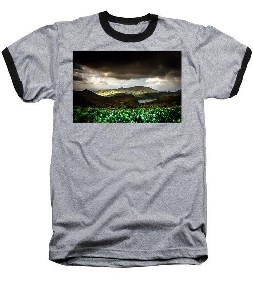 Flores Island - Azores Baseball T-Shirt