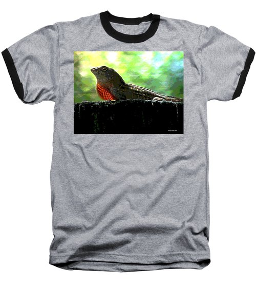 Baseball T-Shirt featuring the photograph Florida Dinosaur by George Pedro