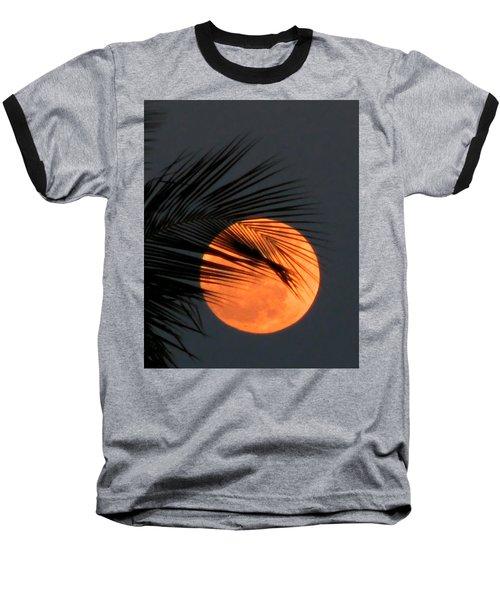 Florida Moonrise Baseball T-Shirt