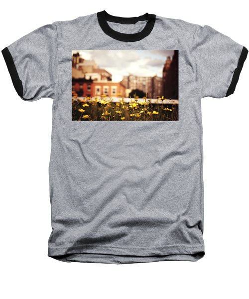 Flowers - High Line Park - New York City Baseball T-Shirt by Vivienne Gucwa