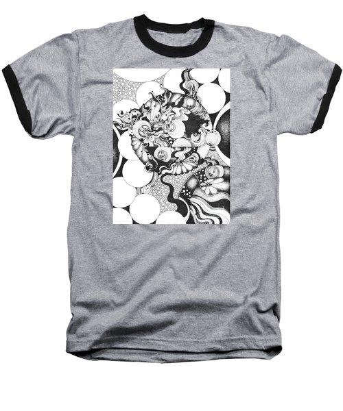 Moonlight Reflections Baseball T-Shirt