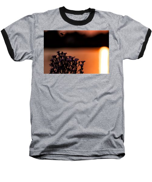 Baseball T-Shirt featuring the photograph Flying Home by Tom Gort