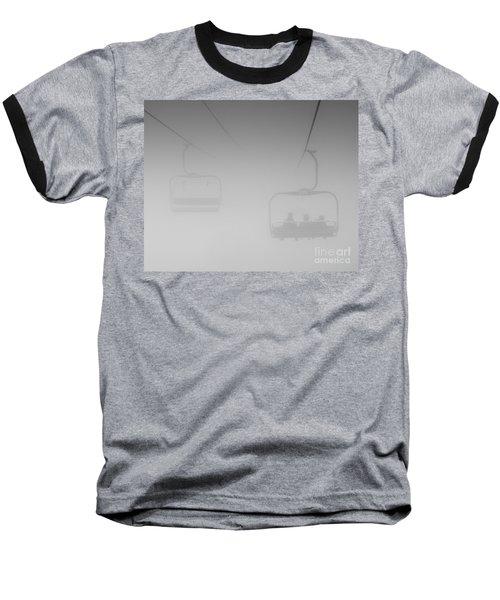 Baseball T-Shirt featuring the photograph Fog by Eunice Gibb