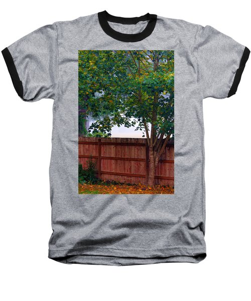 Baseball T-Shirt featuring the photograph Fog In Olympia by Jeanette C Landstrom