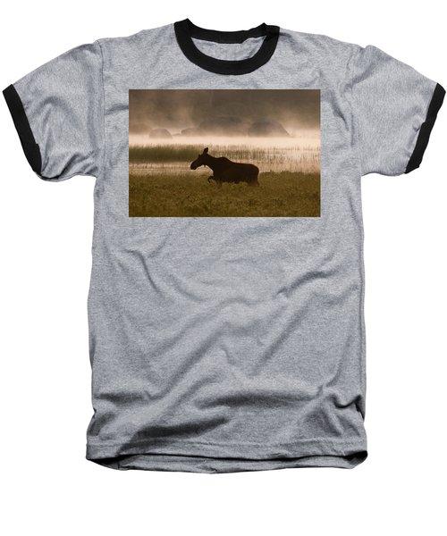 Foggy Stroll Baseball T-Shirt