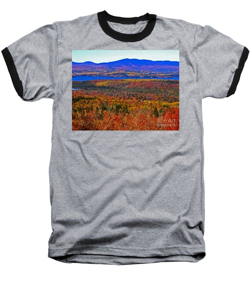 Foliage From Height Of Land Baseball T-Shirt