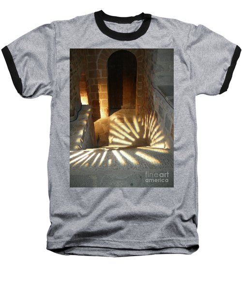 Follow The Light-stairs Baseball T-Shirt