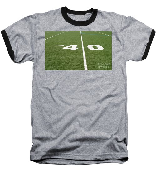 Baseball T-Shirt featuring the photograph Football Field Forty by Henrik Lehnerer