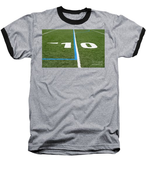 Baseball T-Shirt featuring the photograph Football Field Ten by Henrik Lehnerer