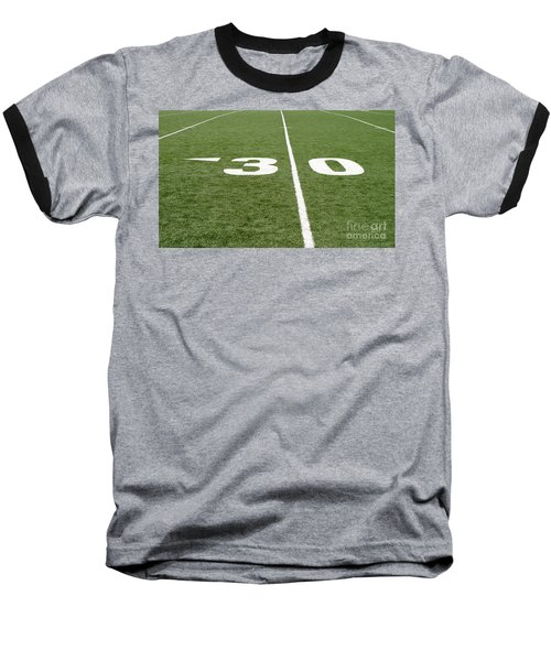 Baseball T-Shirt featuring the photograph Football Field Thirty by Henrik Lehnerer