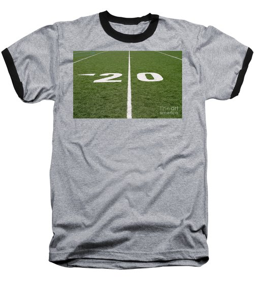 Baseball T-Shirt featuring the photograph Football Field Twenty by Henrik Lehnerer