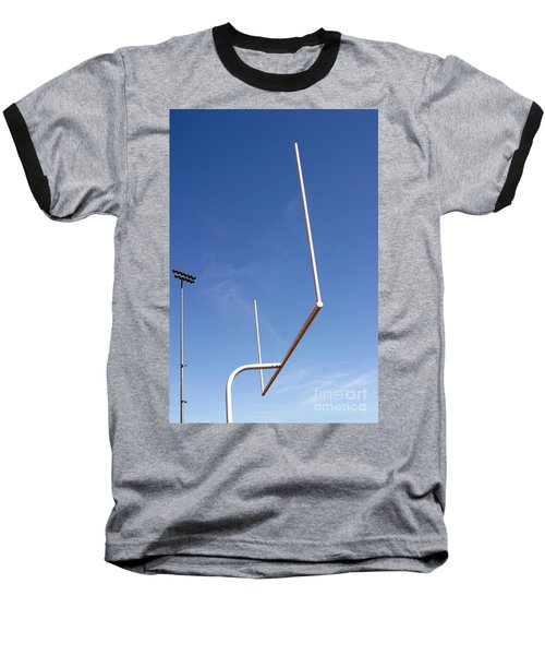 Baseball T-Shirt featuring the photograph Football Goal by Henrik Lehnerer