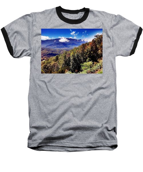 Foothills Parkway Tennessee Baseball T-Shirt by Janice Spivey