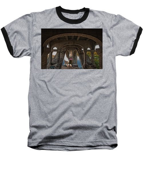 Baseball T-Shirt featuring the photograph Ford Parkway Bridge by Tom Gort