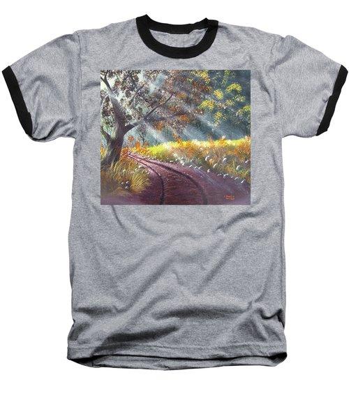 Forest Sunbeams Baseball T-Shirt