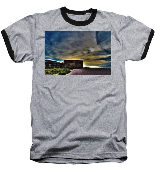 Fort Clinch Baseball T-Shirt by Shannon Harrington