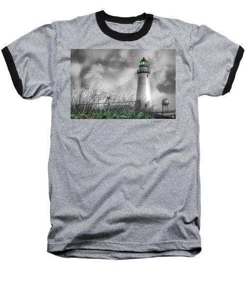 Fort Gratiot Lighthouse Baseball T-Shirt