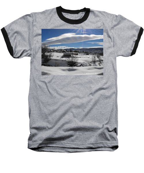 Fortress Of Solitude Baseball T-Shirt