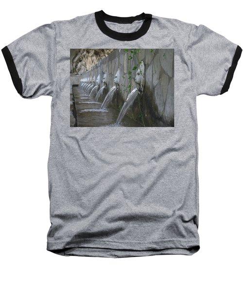 Baseball T-Shirt featuring the photograph Fountain by David Gleeson