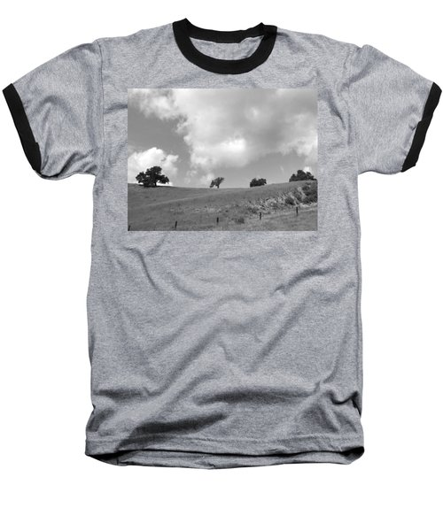 Baseball T-Shirt featuring the photograph Four On The Hill by Kathleen Grace