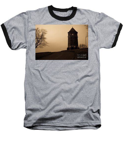 Fox Hill Tower Baseball T-Shirt