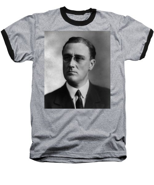 Baseball T-Shirt featuring the photograph Franklin Delano Roosevelt by International  Images