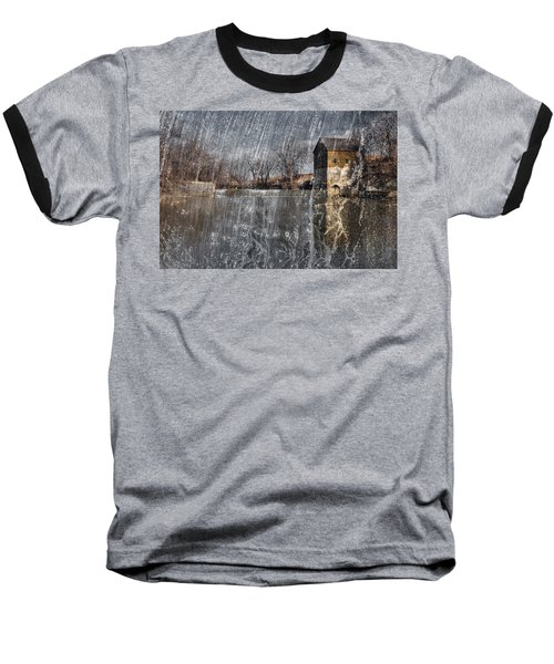 Baseball T-Shirt featuring the photograph Fredonia Mill by Brian Duram