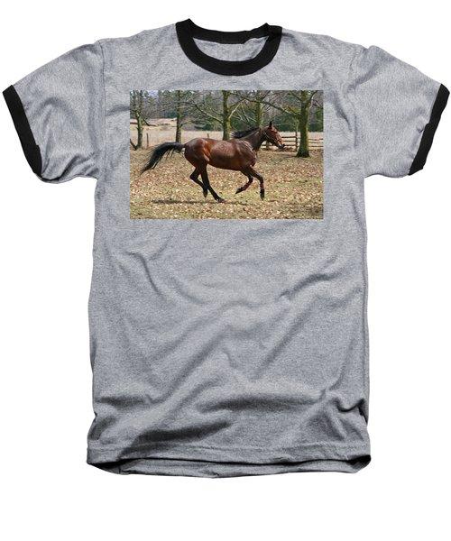 Baseball T-Shirt featuring the photograph Free Spirit by Davandra Cribbie