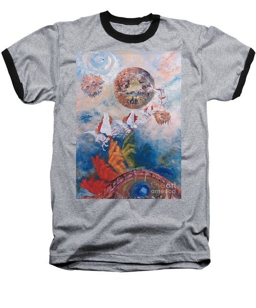 Freedom - The Beginning Of All Being Baseball T-Shirt