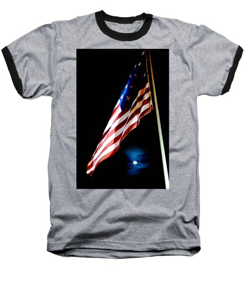 Flag On Federal Hill Baseball T-Shirt