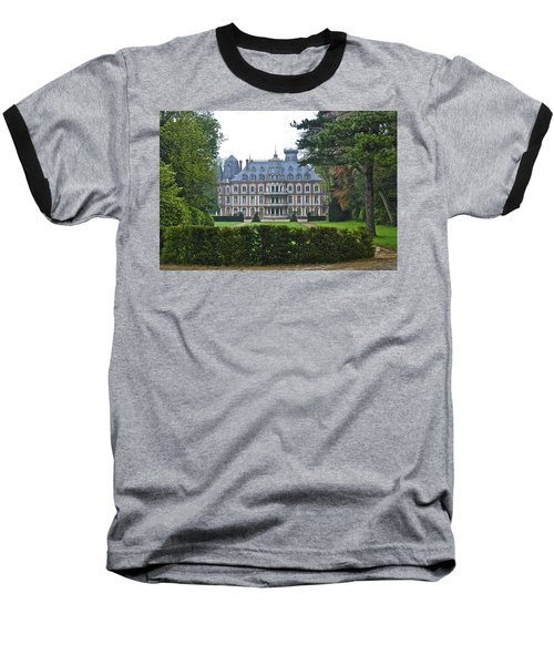 French Country Mansion Baseball T-Shirt