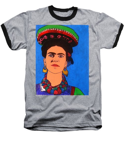 Frida Kahlo Baseball T-Shirt