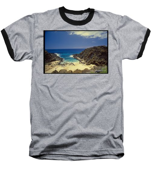 From Here To Eternity Beach Baseball T-Shirt by Mark Gilman