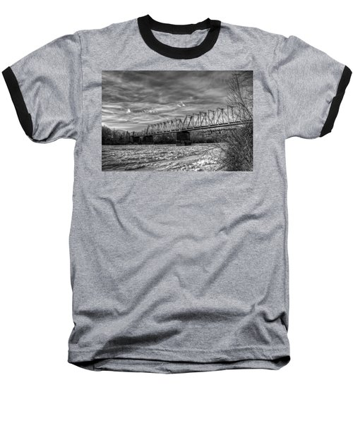 Frozen Tracks Baseball T-Shirt