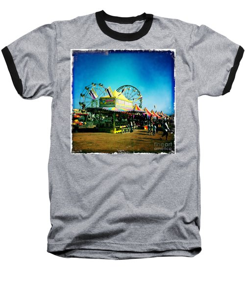Baseball T-Shirt featuring the photograph Fun At The Fair by Nina Prommer