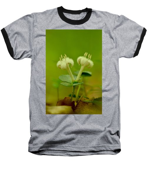 Baseball T-Shirt featuring the photograph Fuzzy Blooms by JD Grimes