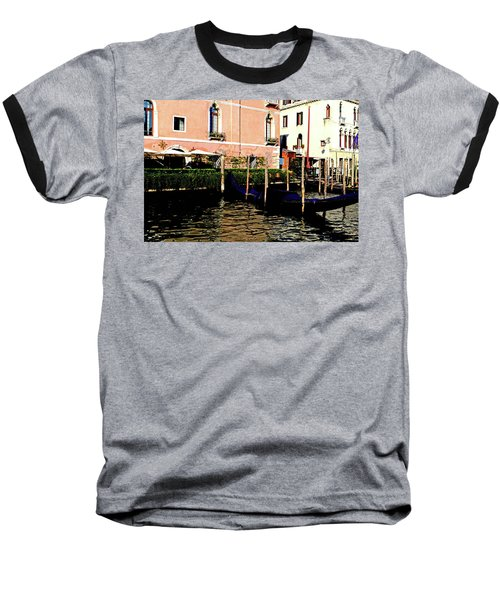 Gandola Docking Baseball T-Shirt
