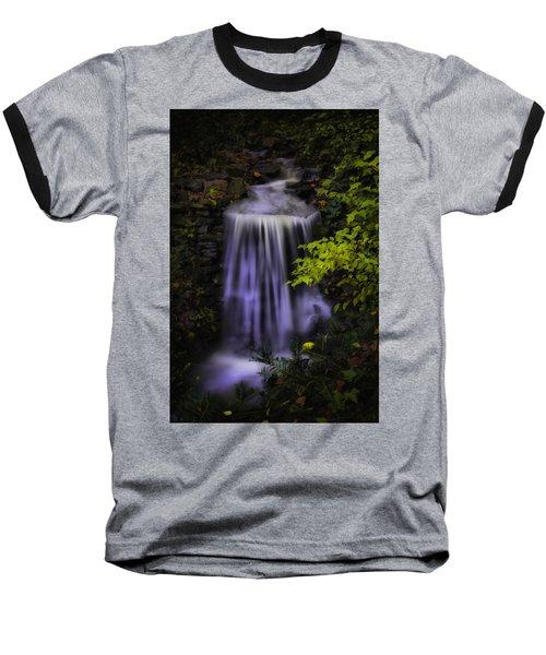 Baseball T-Shirt featuring the photograph Garden Falls by Lynne Jenkins