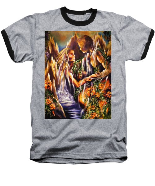 Garden Of Earthly Delights Baseball T-Shirt
