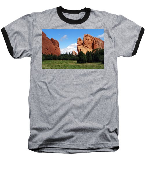 Baseball T-Shirt featuring the photograph Garden Of The Gods by David Pantuso